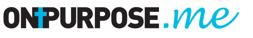 Logo for ONPURPOSE.me for Christians